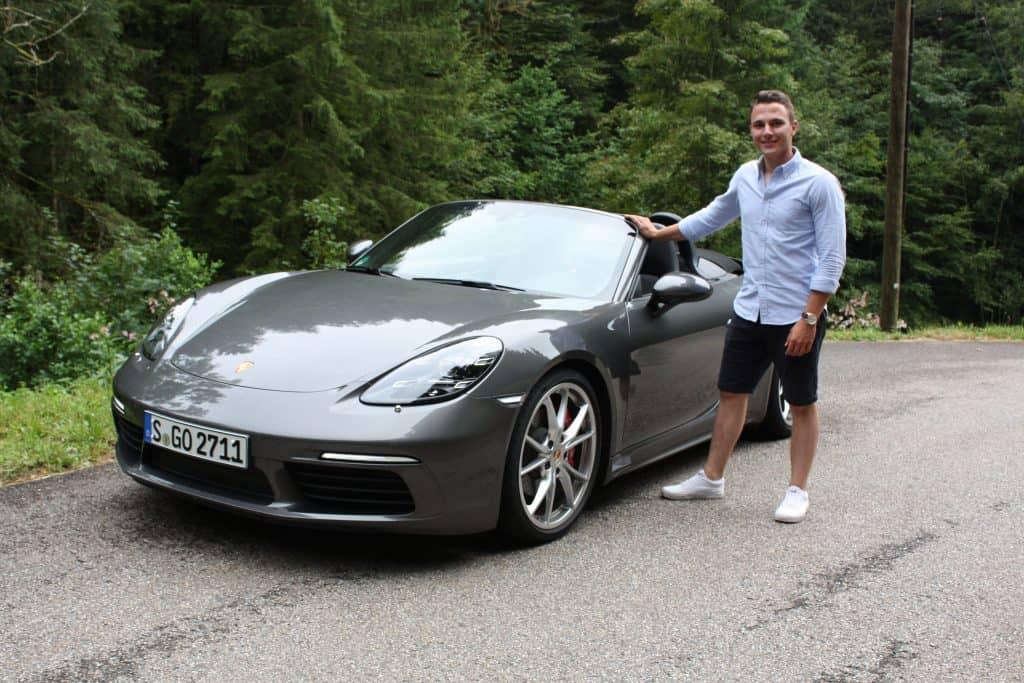 Porsche 718 Boxster S und Tim Litterst
