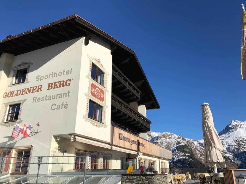 Hotel Goldener Berg in Oberlech