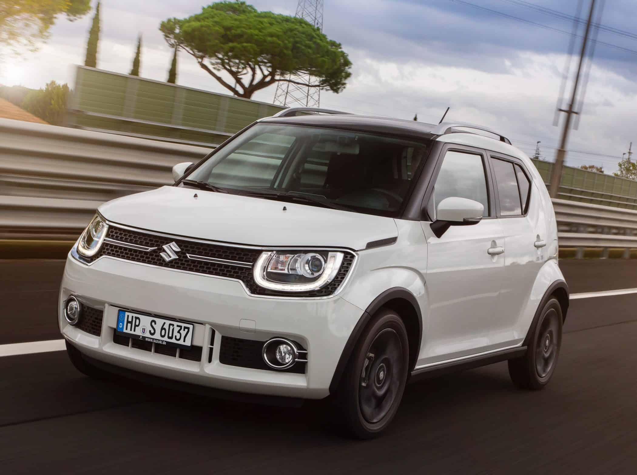 Suzuki Ignis Rollt Zu Den Handlern