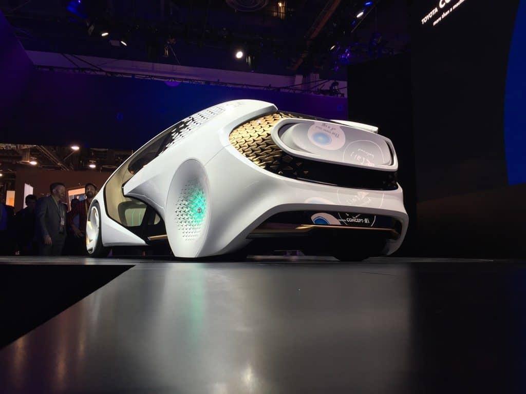 CES 2017: Toyota