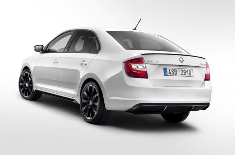 Škoda zeigt in Genf aufgewerteten Škoda Rapid und Rapid Spaceback ...