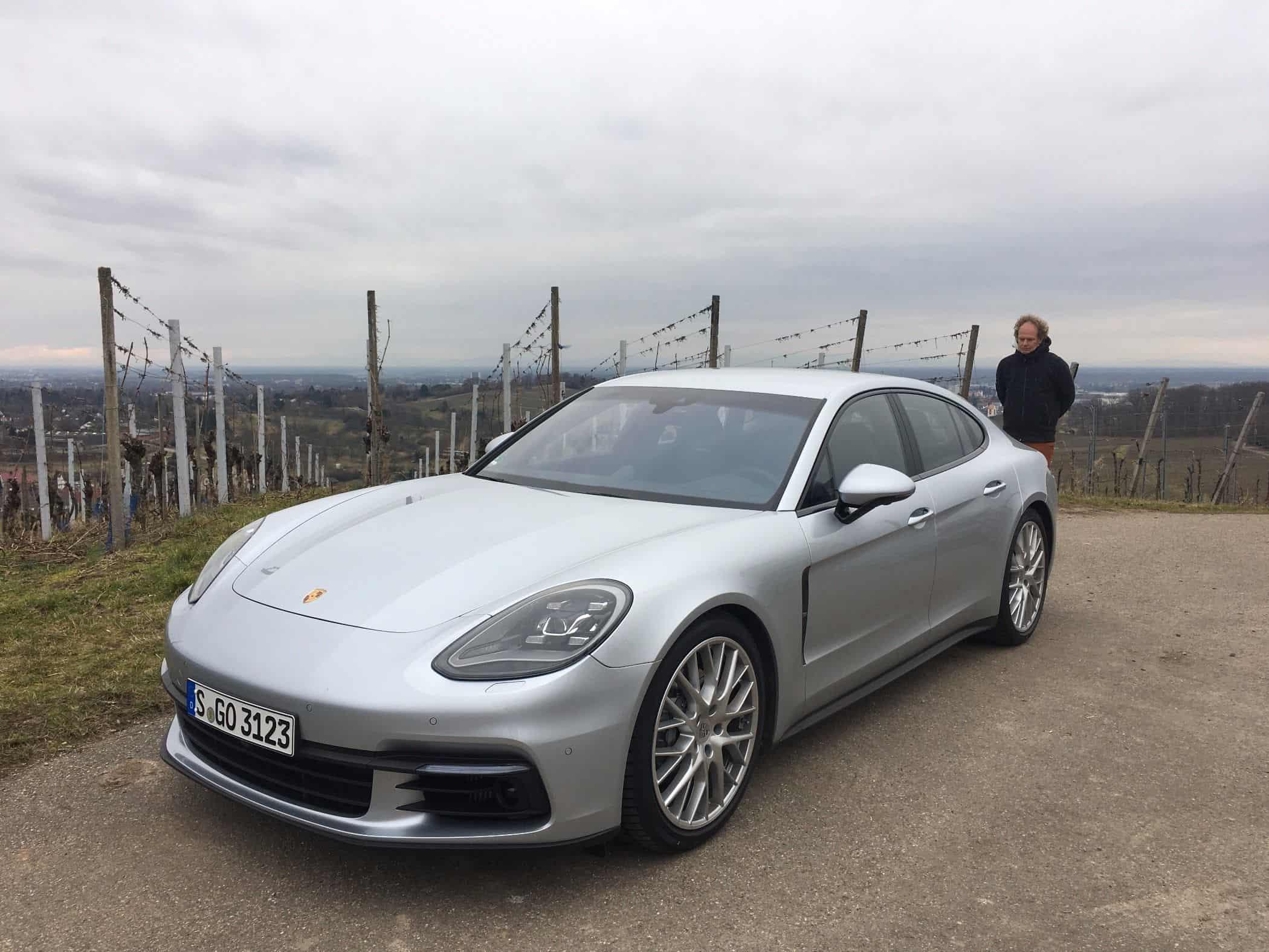 Porsche panamera 4s schnellste serien diesel limousine for Langsamster porsche der welt