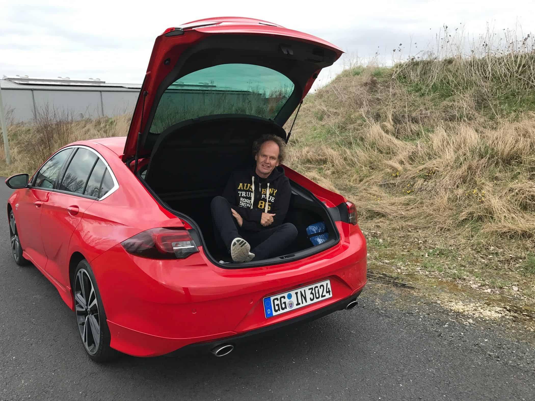 Opel Insignia Grand Sport Limousine Mit Grosser Klappe Der