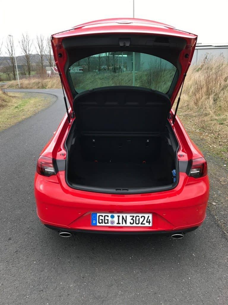 Opel Insignia Grand Sport 2.0 DIT 4x4 Kofferraum