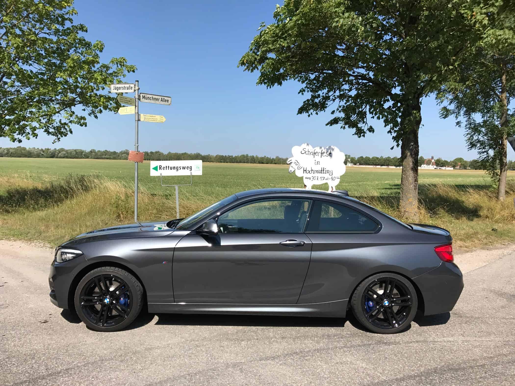 Wellness Kur für den BMW 2er Coupé und auch Cabrio profitieren