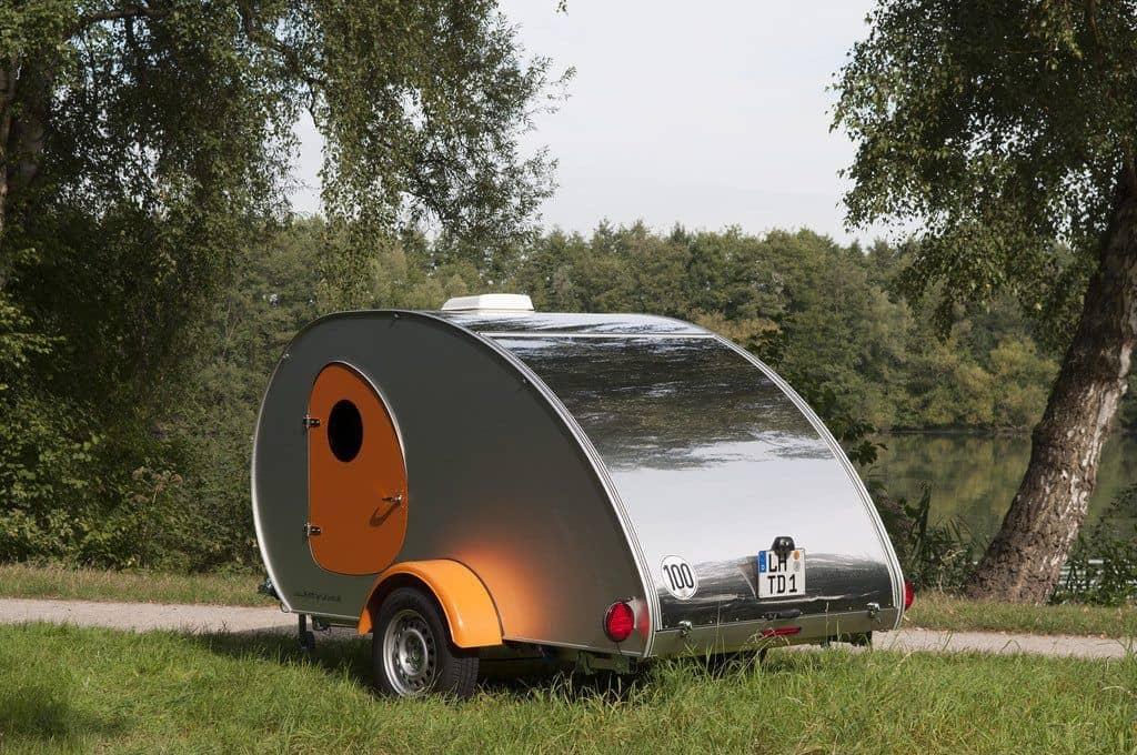 Wohnwagen Mit Außenküche : Teardrop caravan als stylischer retro wohnwagen der autotester.de