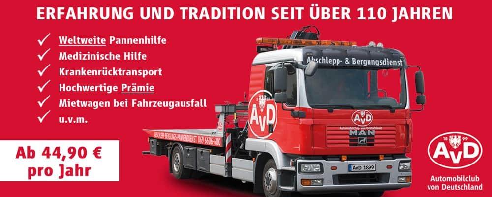AvD - Automobilclub von Deutschland e.V.