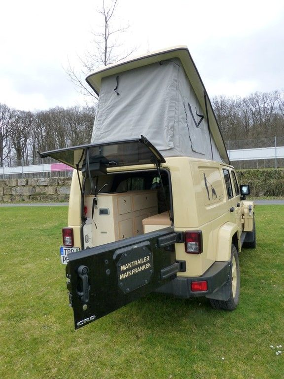behl mobile campen im jeep wrangler unlimited der. Black Bedroom Furniture Sets. Home Design Ideas