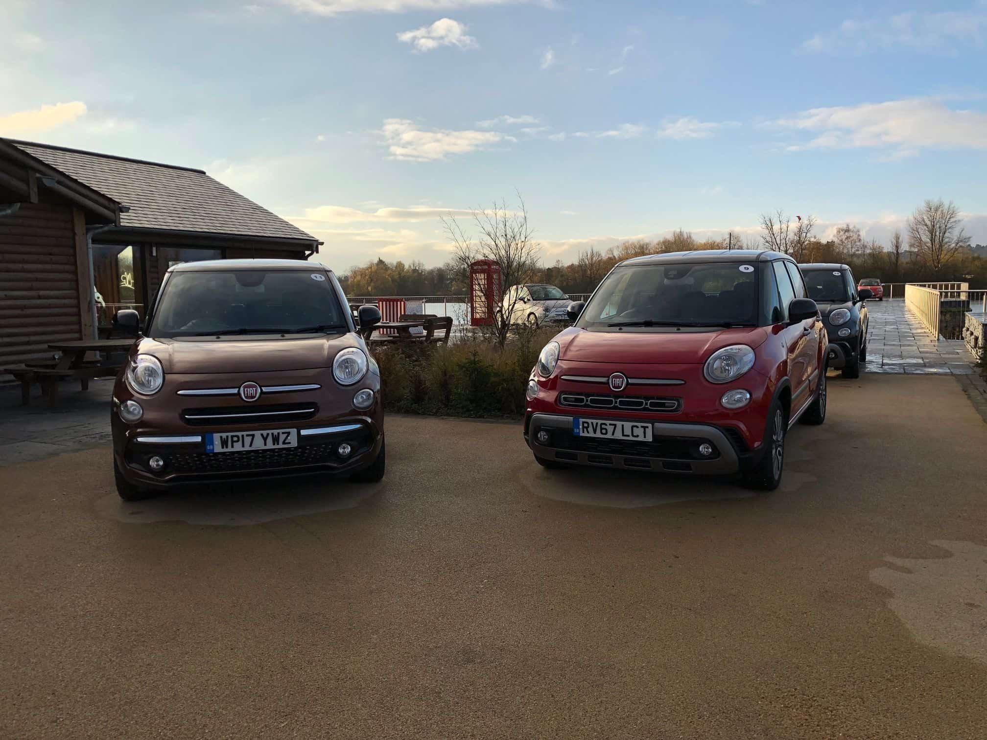 Fiat 500er Familie