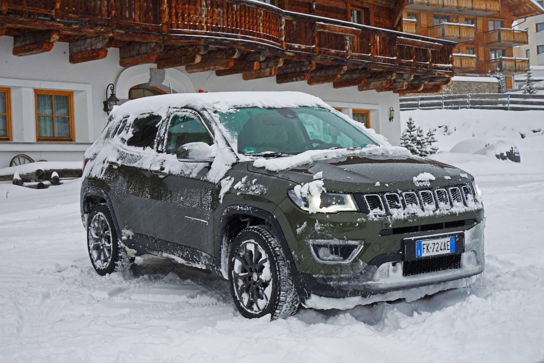 jeep compass modell 2018 allrad wintertestfahrt im. Black Bedroom Furniture Sets. Home Design Ideas