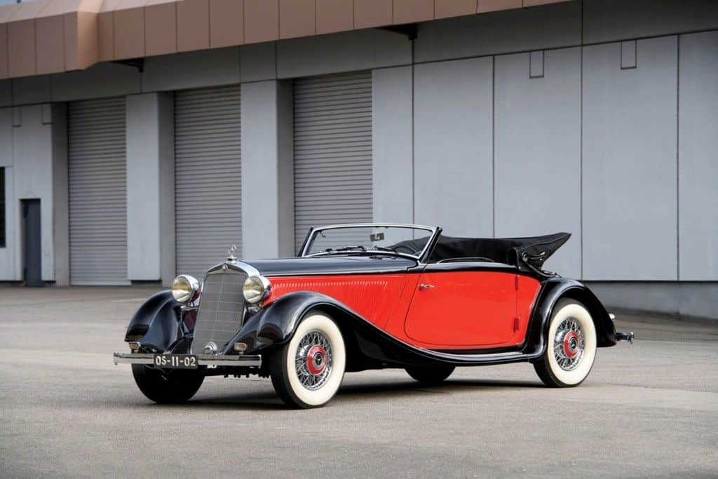 1937er Mercedes-Benz 290 Cabriolet A