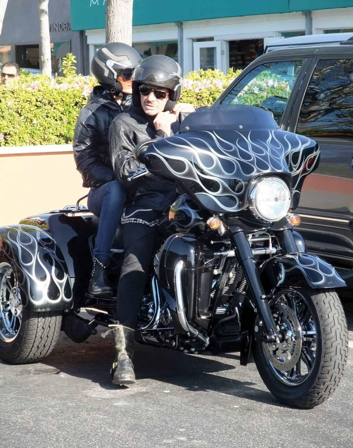 Harley Davidson FLHXXX Street Glide Trike von Johnny Hallyday