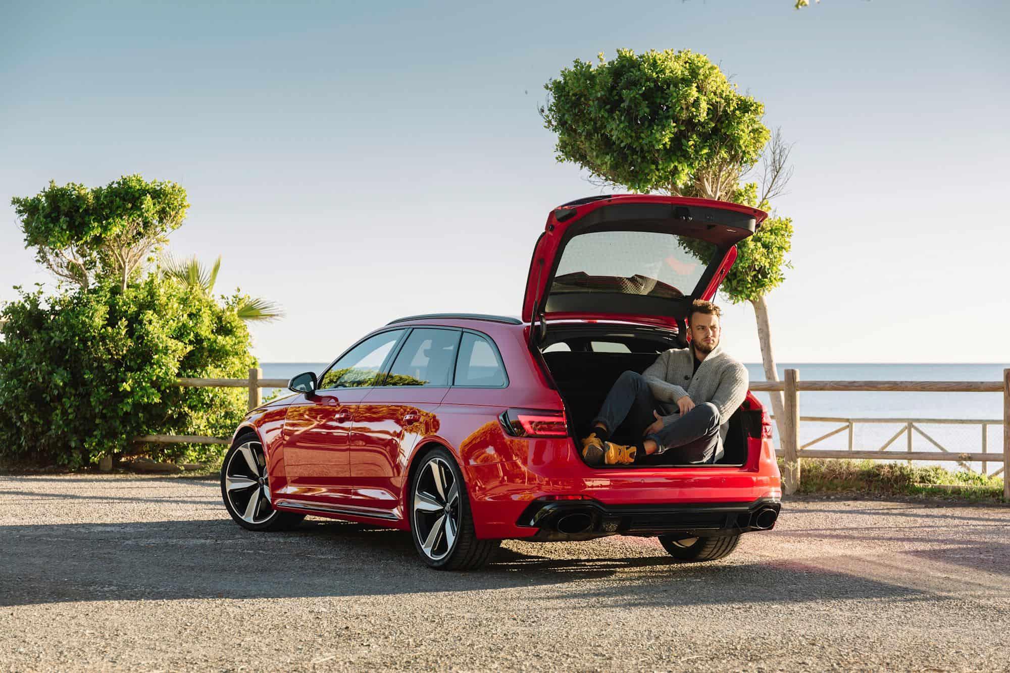 Audi RS4 Avant, Jan Weizenecker