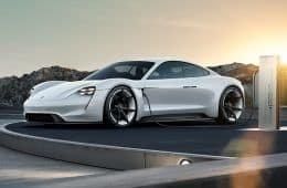Konzeptstudie Porsche Mission E