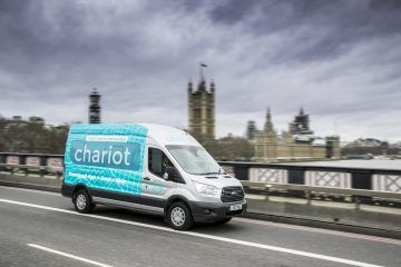 Ford-Shuttleservice Chariot in London