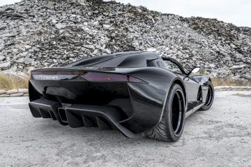Rezvani Beast Alpha X Blackbird