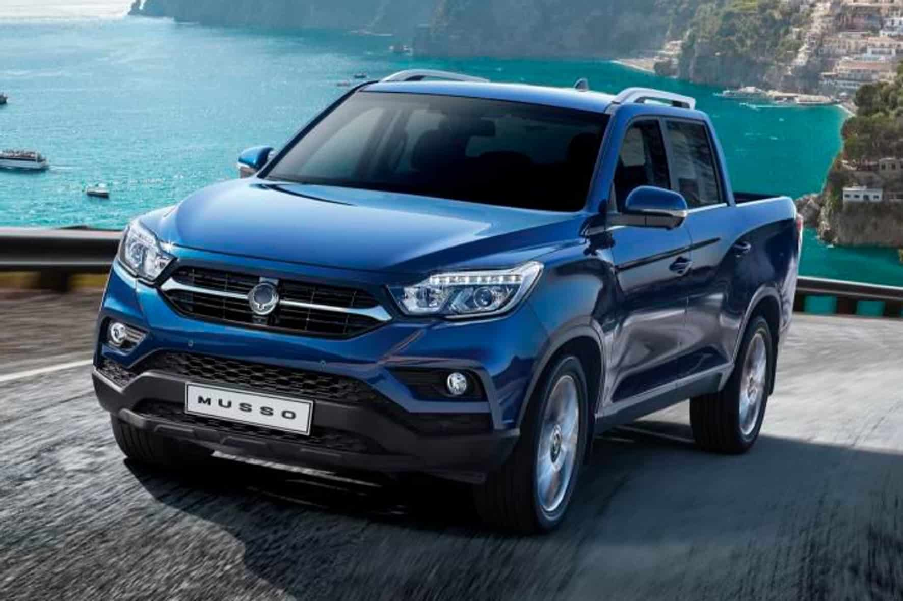 SsangYong Pick-up namens Musso