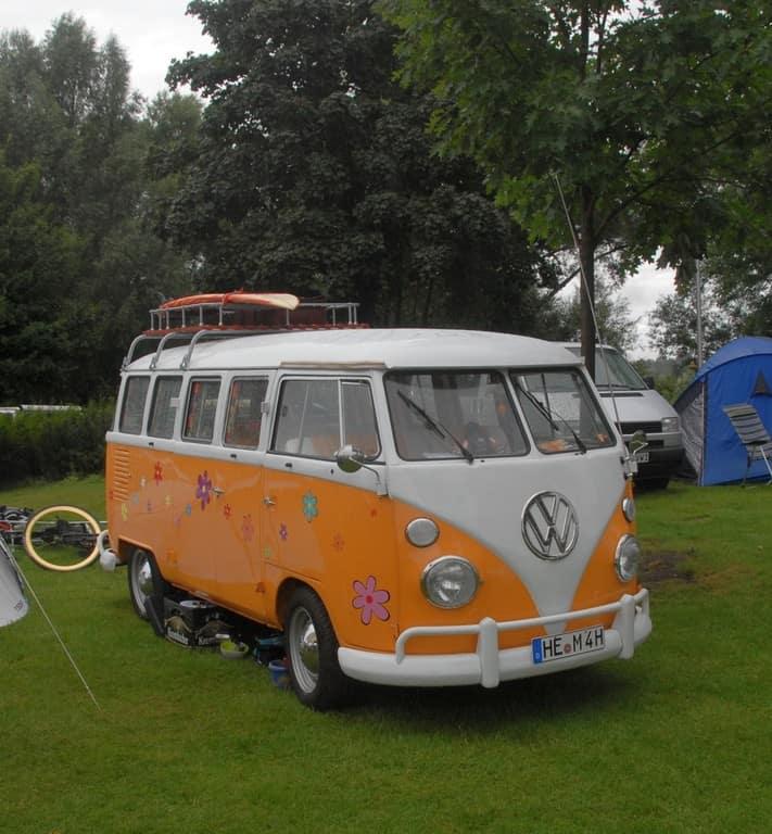 """Bulli Summer Festival"" in Wolfsburg."