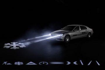 Digital Light des Mercedes-Maybach S-Klasse.