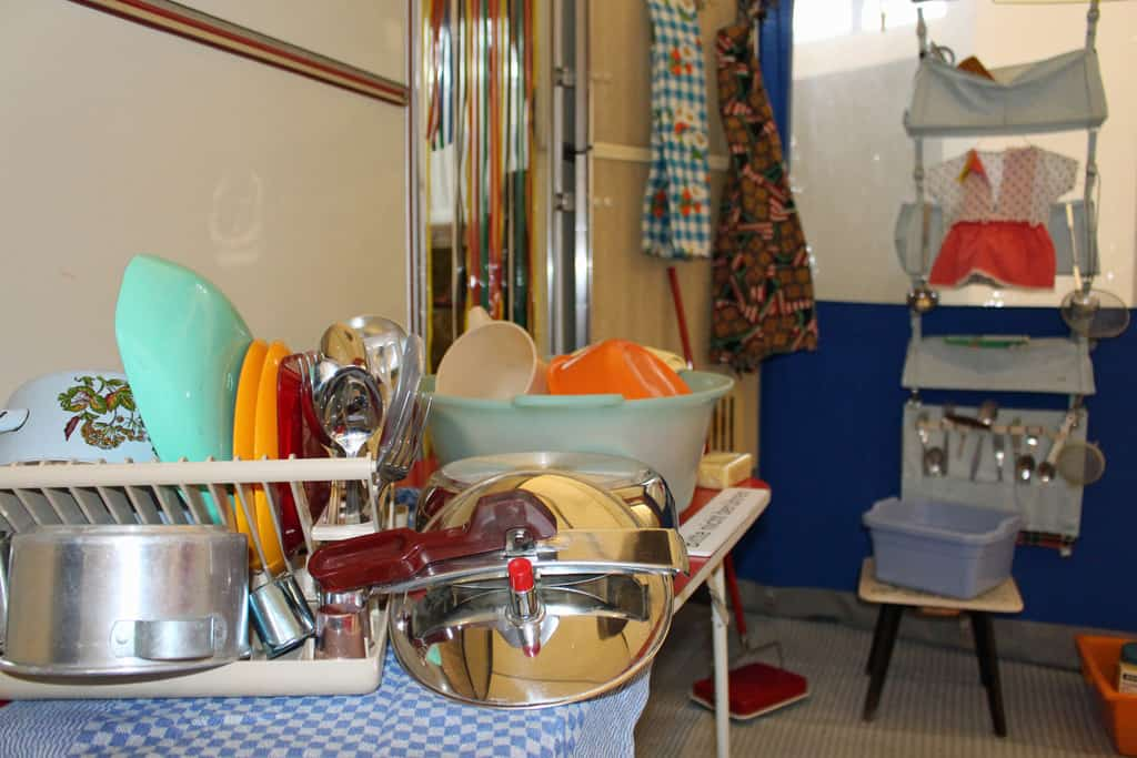 "Erwin Hymer-Museum zeigt ""Home Sweet Home - Haushalt unterwegs""."