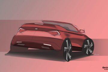 Skoda-Auszubildende entwerfen und bauen ein Concept Car, es wird ein Karoq Cabrio.