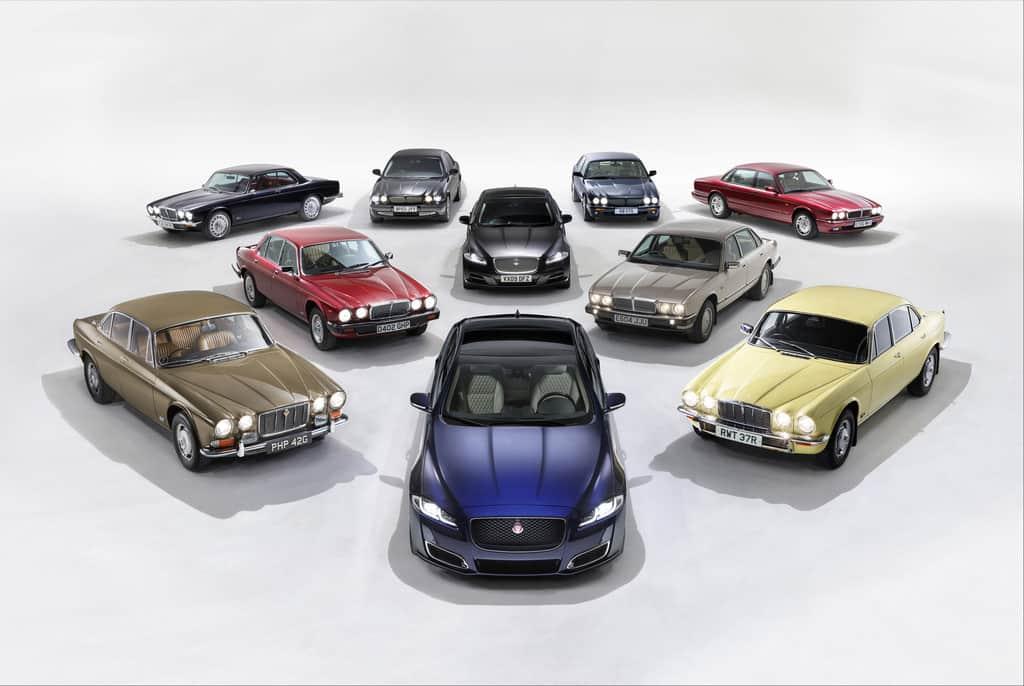 50 Jahre und acht Generationen Jaguar XJ.
