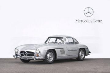 Mercedes-Benz 300 SL Flügeltürer von 1955.