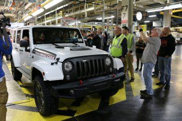 Der letzte Jeep Wrangler der Modellgeneration JK.