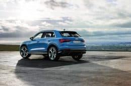 Audi Q3 Facelift Heck