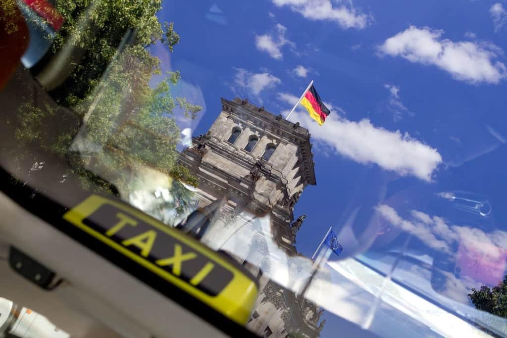 London Taxi TX in Berlin