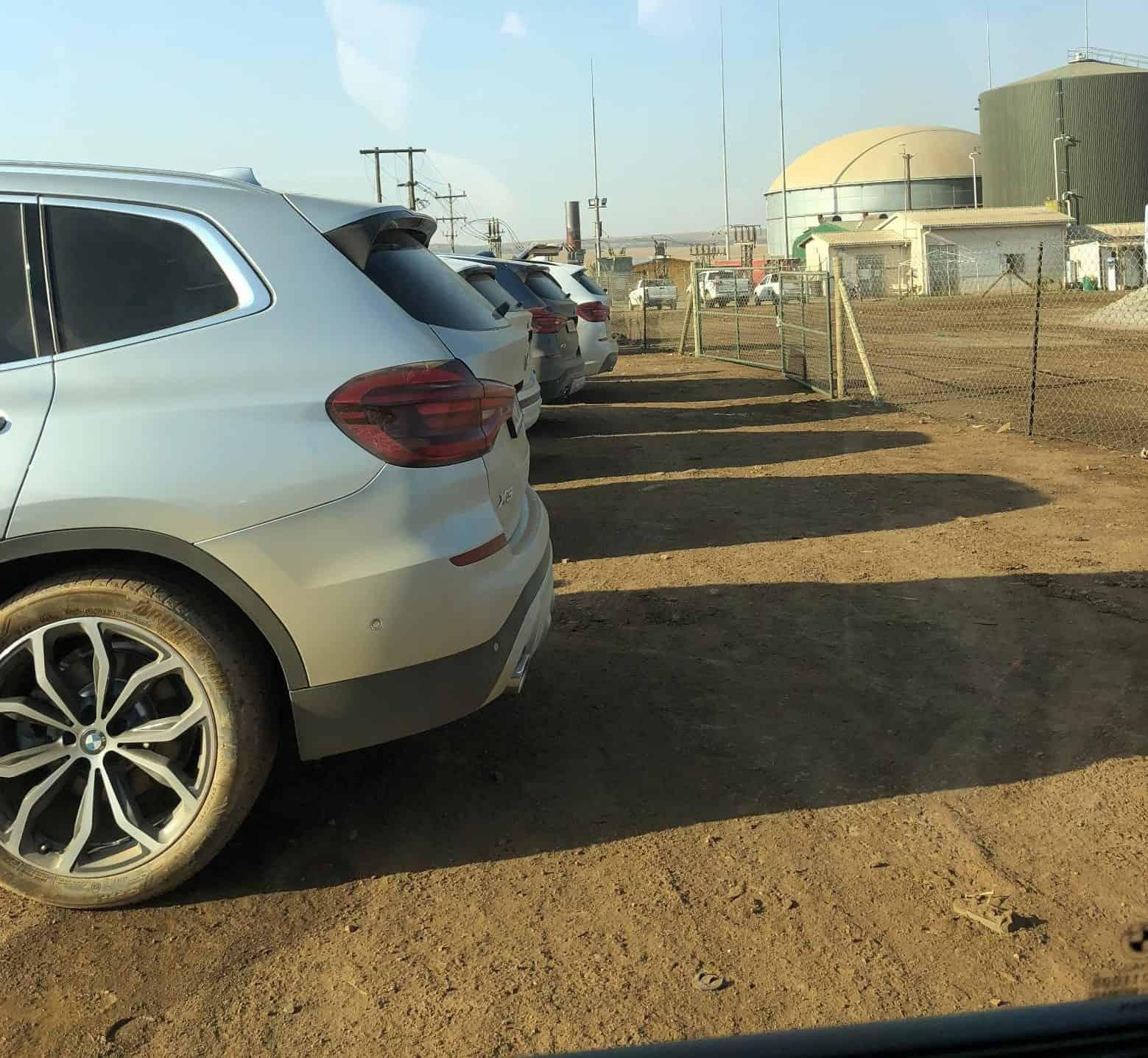 BMW X3 Werk in Rosslyn, Südafrika