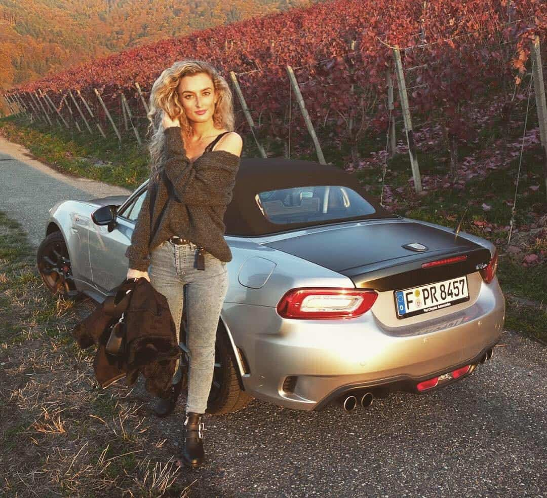 Abarth 124 Spider, Nina Weizenecker