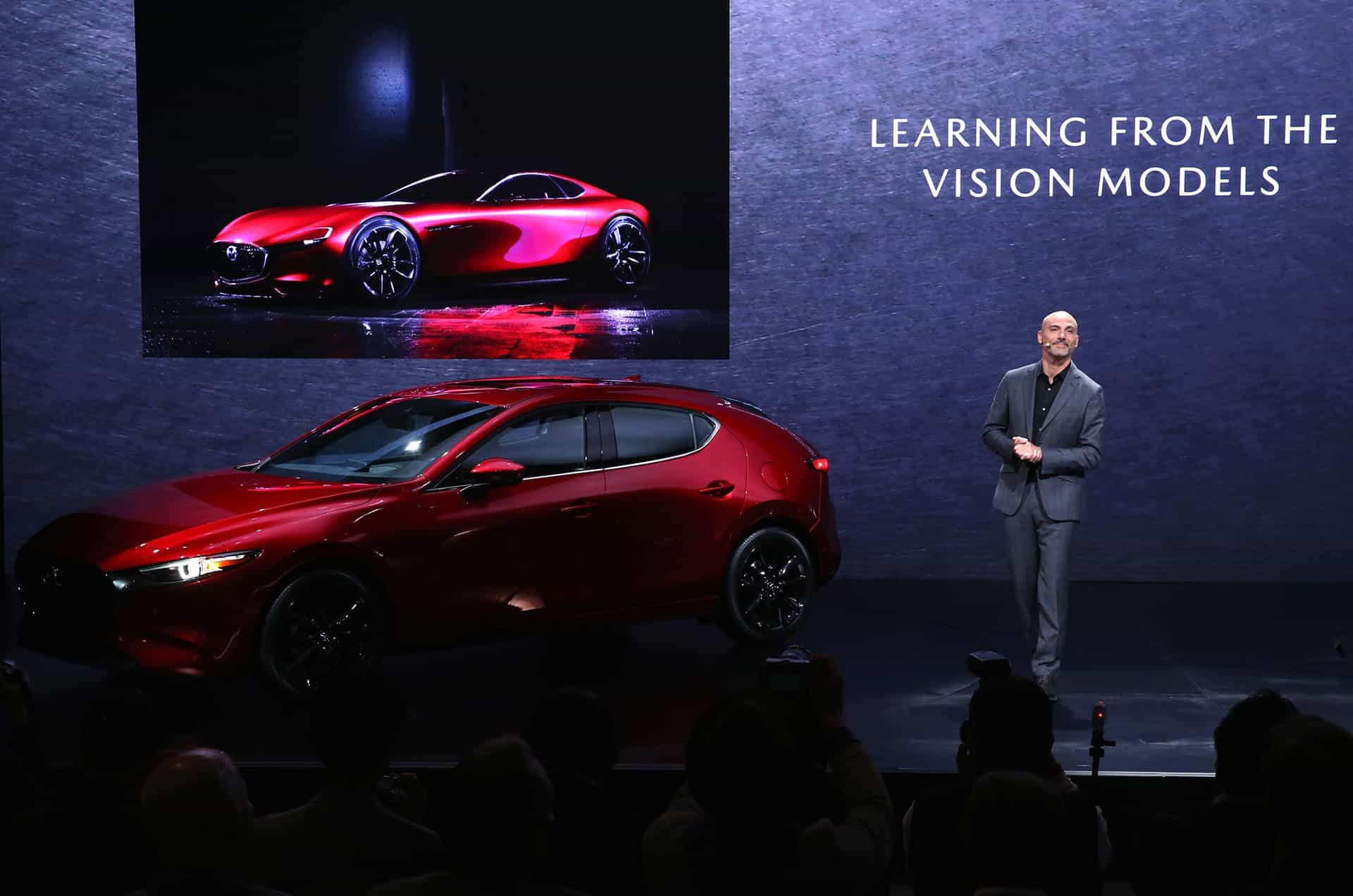 Julien Montousse (Design Director at Mazda North American Operations).