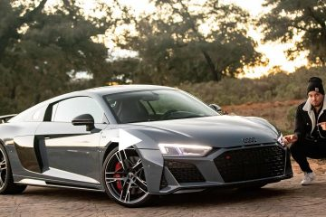 Audi R8 Facelift, Jan Weizenecker