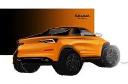 Pickup-Version des Skoda Kodiaq stammt von Azubis