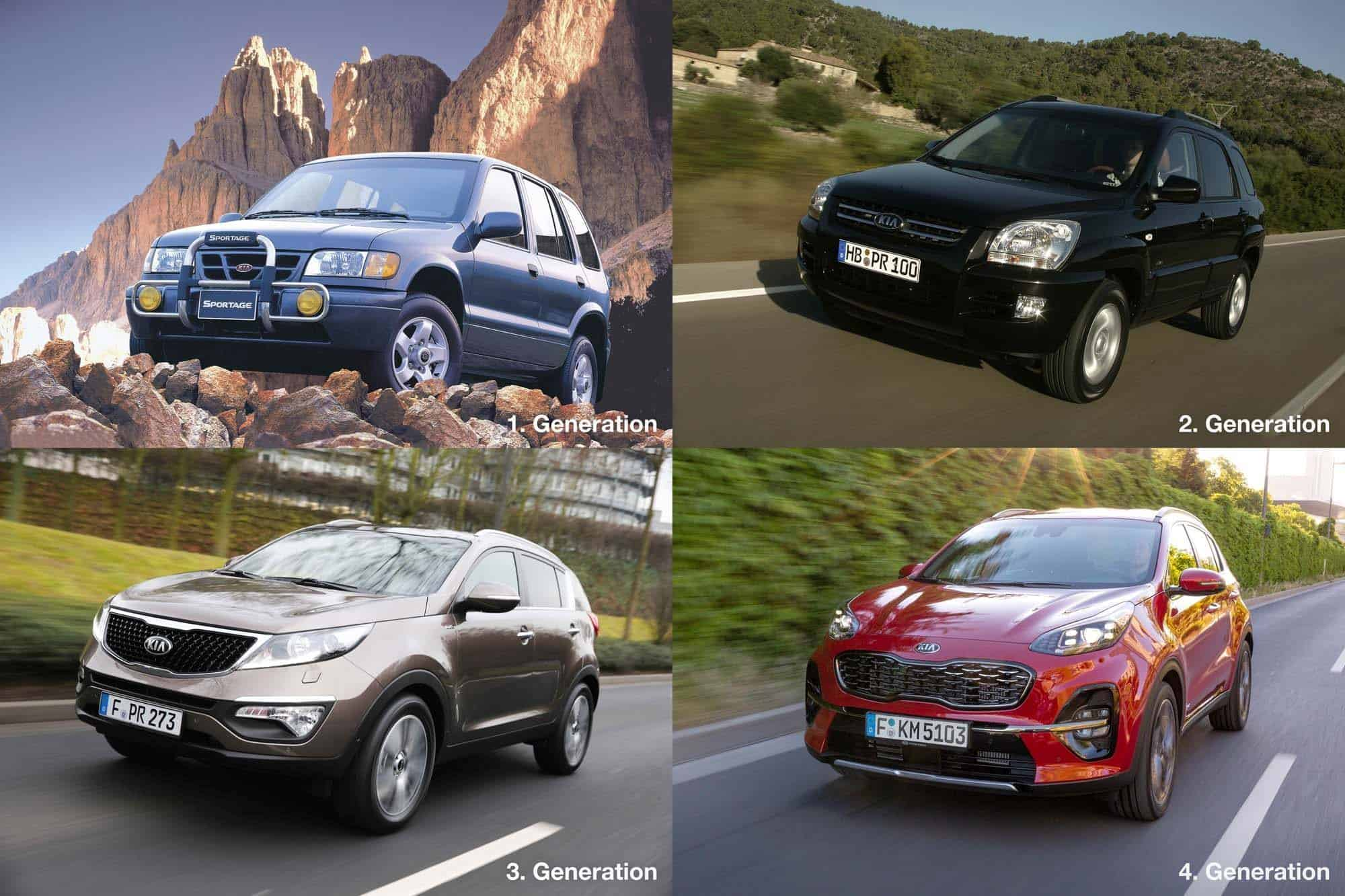 "Kia Sportage als Sonderedition ""Dream Team"""