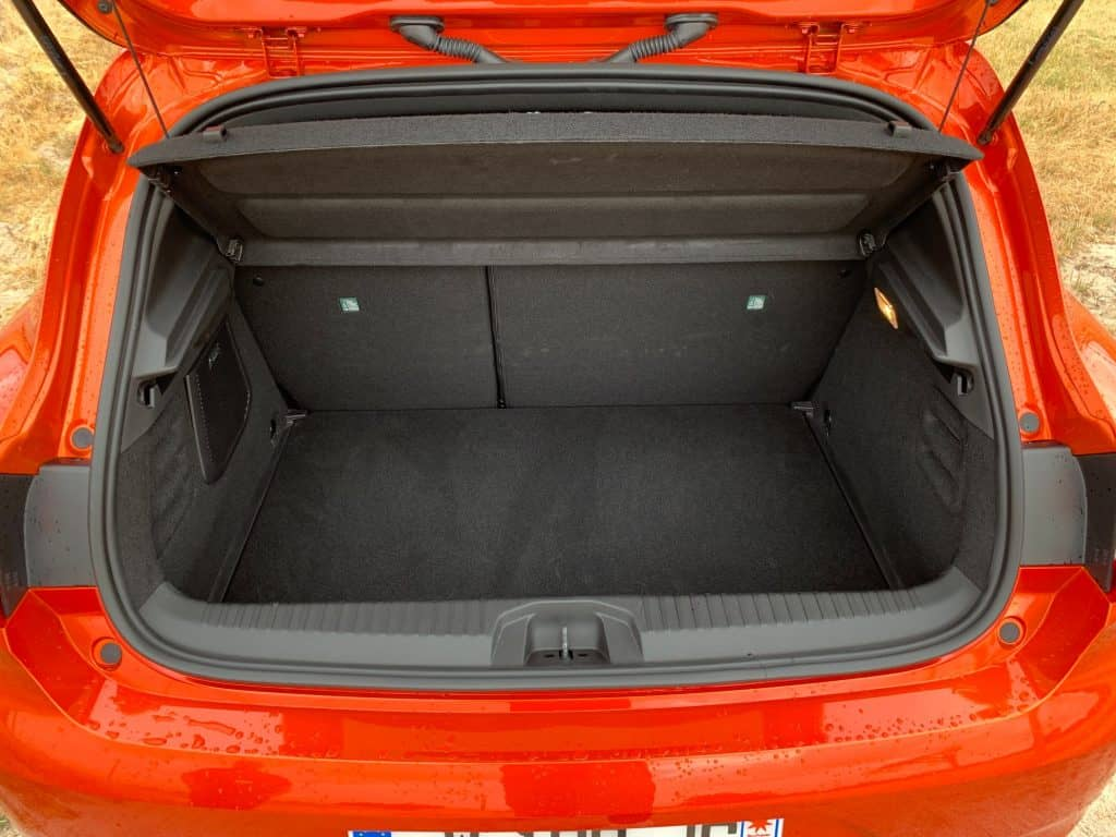 Renault Clio 2019, Kofferraum