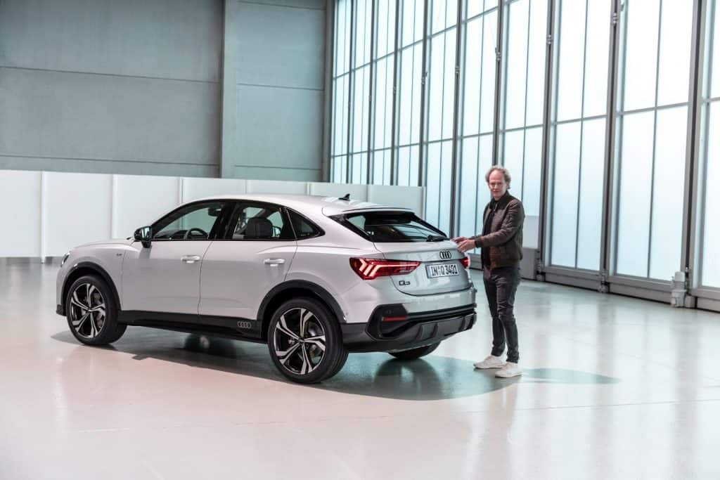 Neuer Audi Q3 Sportback kommt im Herbst, Friedbert Weizenecker