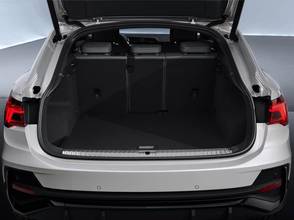 Neuer Audi Q3 Sportback kommt im Herbst, Gepäckraum