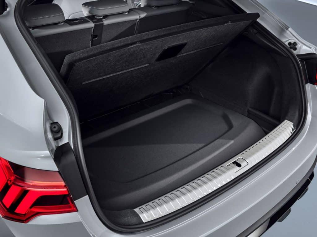 Neuer Audi Q3 Sportback kommt im Herbst, Kofferraum
