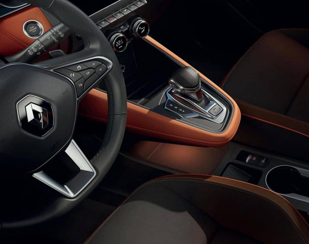 Renault Captur 2020, Vordersitze