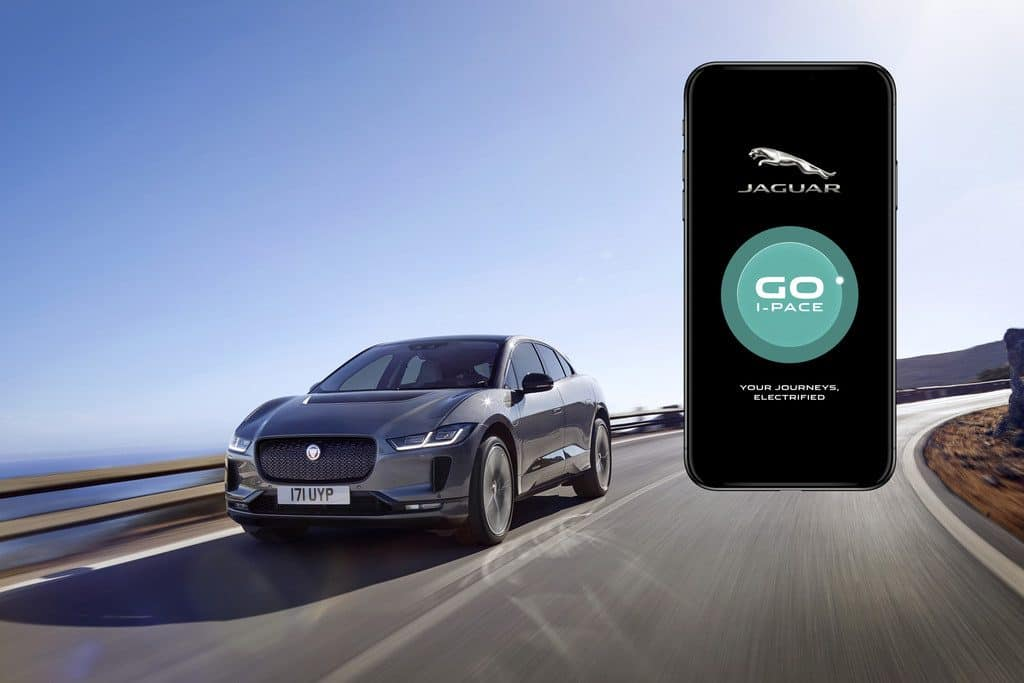 Jaguar I-Pace App