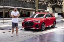 2020 Audi RS Q3 (400 PS), Jan Weizenecker