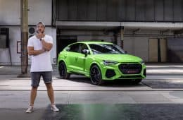 Brandneuer Audi RS Q3 Sportback (400 PS) - Sitzprobe im Video, Jan Weizenecker