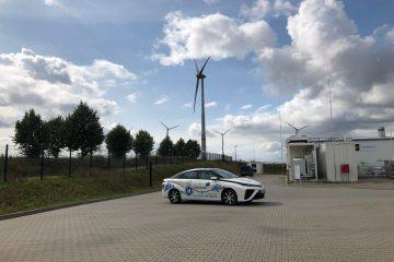 Brennstoffzellen-Technologie. Toyota Mirai
