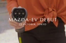 Mazda zeigt sein selbst entwickeltes Elektroauto in Tokyo