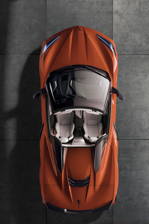 Chevrolet Corvette Stingray Convertible.