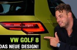 Der neue VW Golf 8, Jan Weizenecker