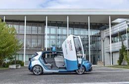 Renault ZOE Robo-Taxi