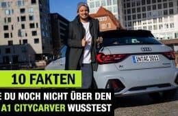 """10 Fakten, die DU noch NICHT über den Audi A1 Citycarver """"Edition One"""" wusstest!, Jan Weizenecker"""